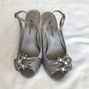 Lulu Townsend Silver Heels